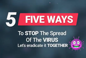 5 Ways to Stop The Spread of COVID-19